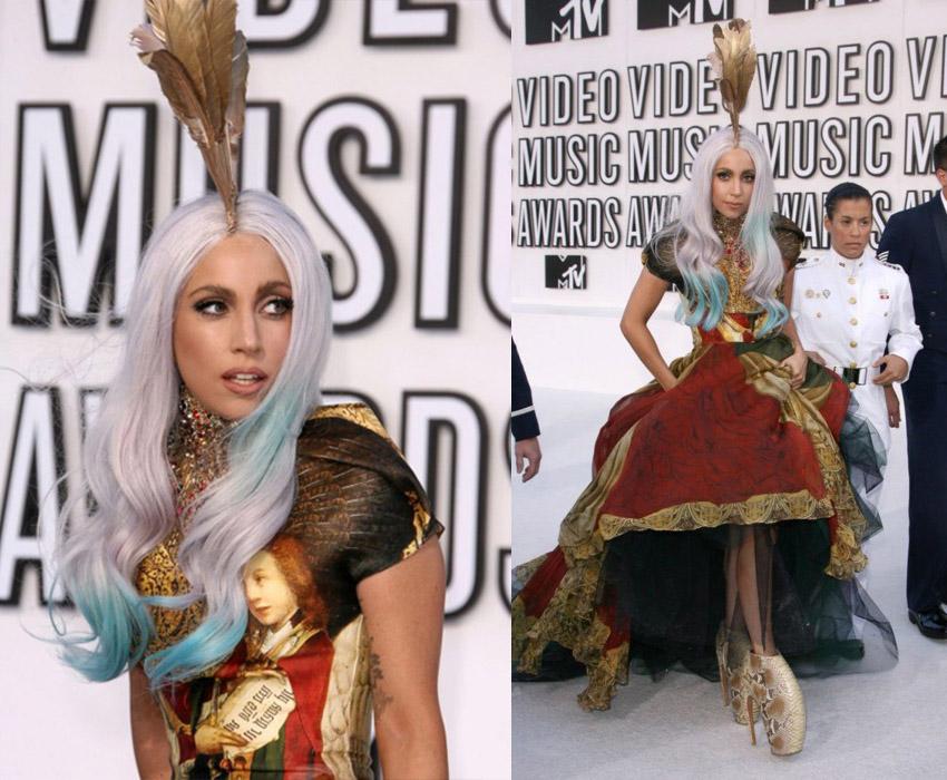 Chaussure Alexander Mcqueen Lady Gaga